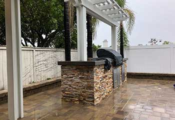 Outdoor Kitchen Installation | Laguna Beach