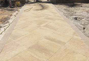 Paver Edging Removal and Replacement in Aliso Viejo | Pillars & Pavers Laguna Niguel